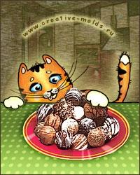 Формы для шоколада 2D